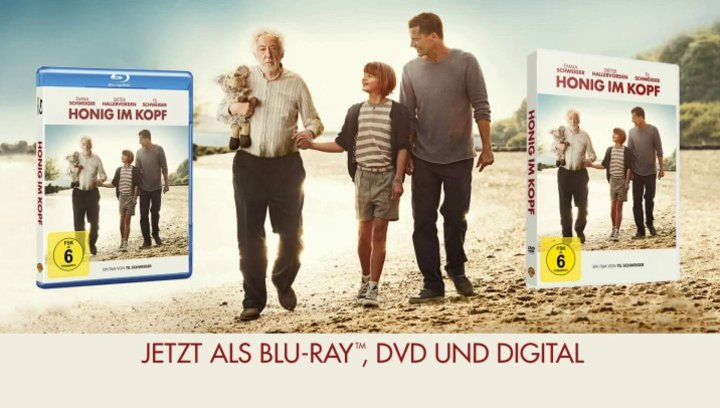 Honig im Kopf - Teaser 2 (VoD-BluRay-DVD-Trailer) Poster