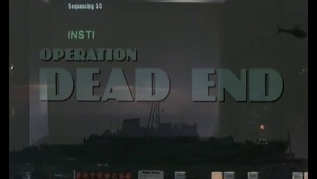 Operation Dead End (DVD-Trailer) Poster