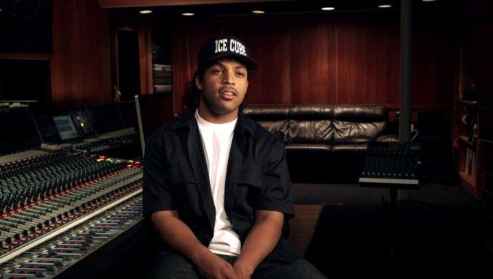 O Shea Jackson Jr über seine Erwartungen fuer die Zuschauer - OV-Interview Poster
