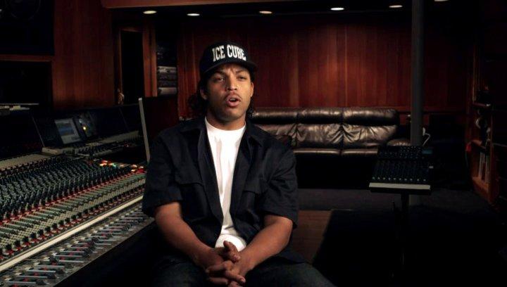 O Shea Jackson Jr über die Dreharbeiten in Los Angeles - OV-Interview Poster