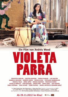 Violeta Parra Poster