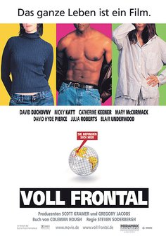 Voll Frontal Poster