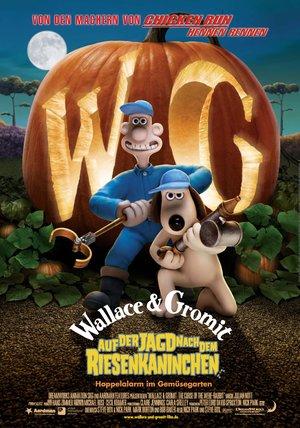 Wallace & Gromit auf der Jagd nach dem Riesenkaninchen Poster