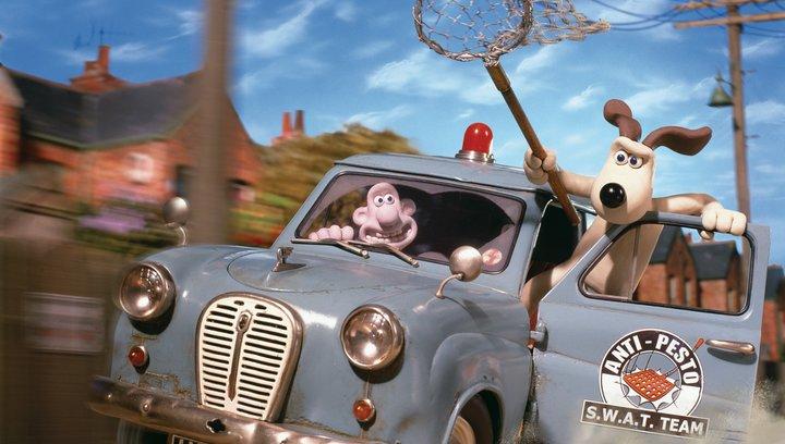 Wallace & Gromit auf der Jagd nach dem Riesenkaninchen - Trailer Poster
