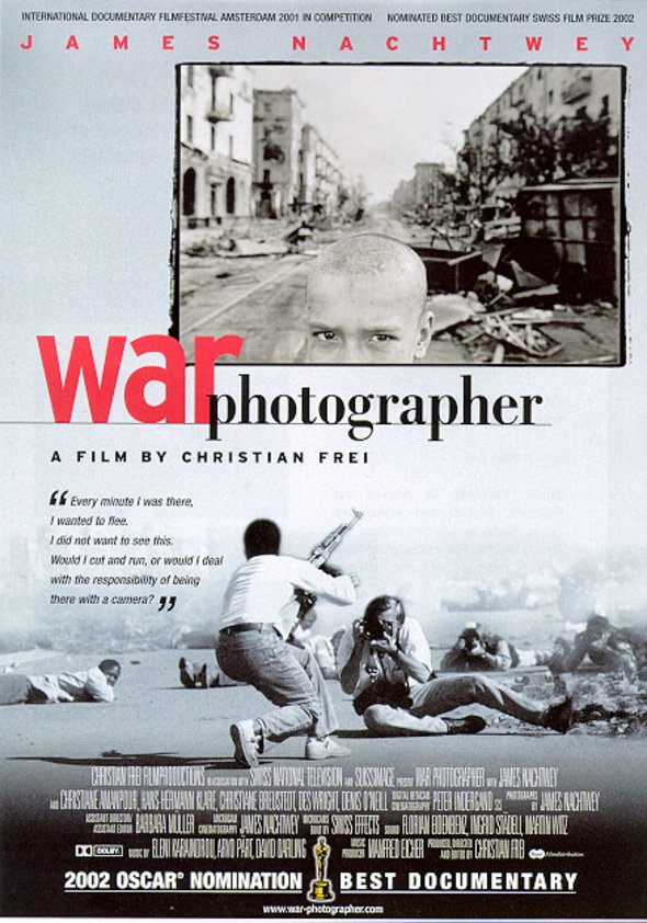 War Photographer Poster