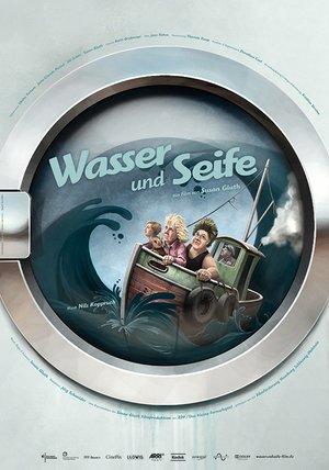 Wasser und Seife Poster