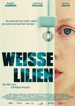 Weiße Lilien Poster