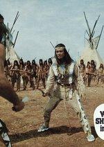 Winnetou und Old Shatterhand im Tal der Toten Poster