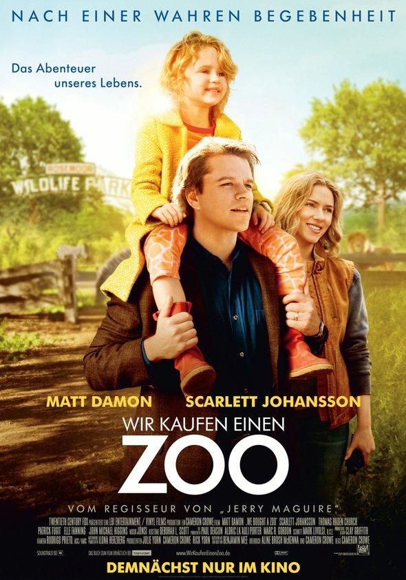 Wir kaufen einen Zoo Poster