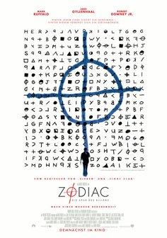Zodiac - Die Spur des Killers Poster