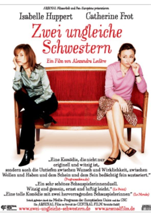 Zwei ungleiche Schwestern Poster