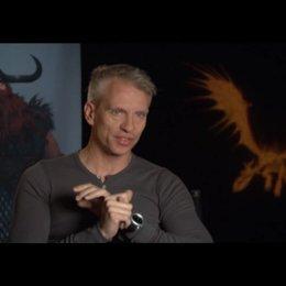 CHRIS SANDERS - Regisseur / Drehbuch über die Wikinger - OV-Interview