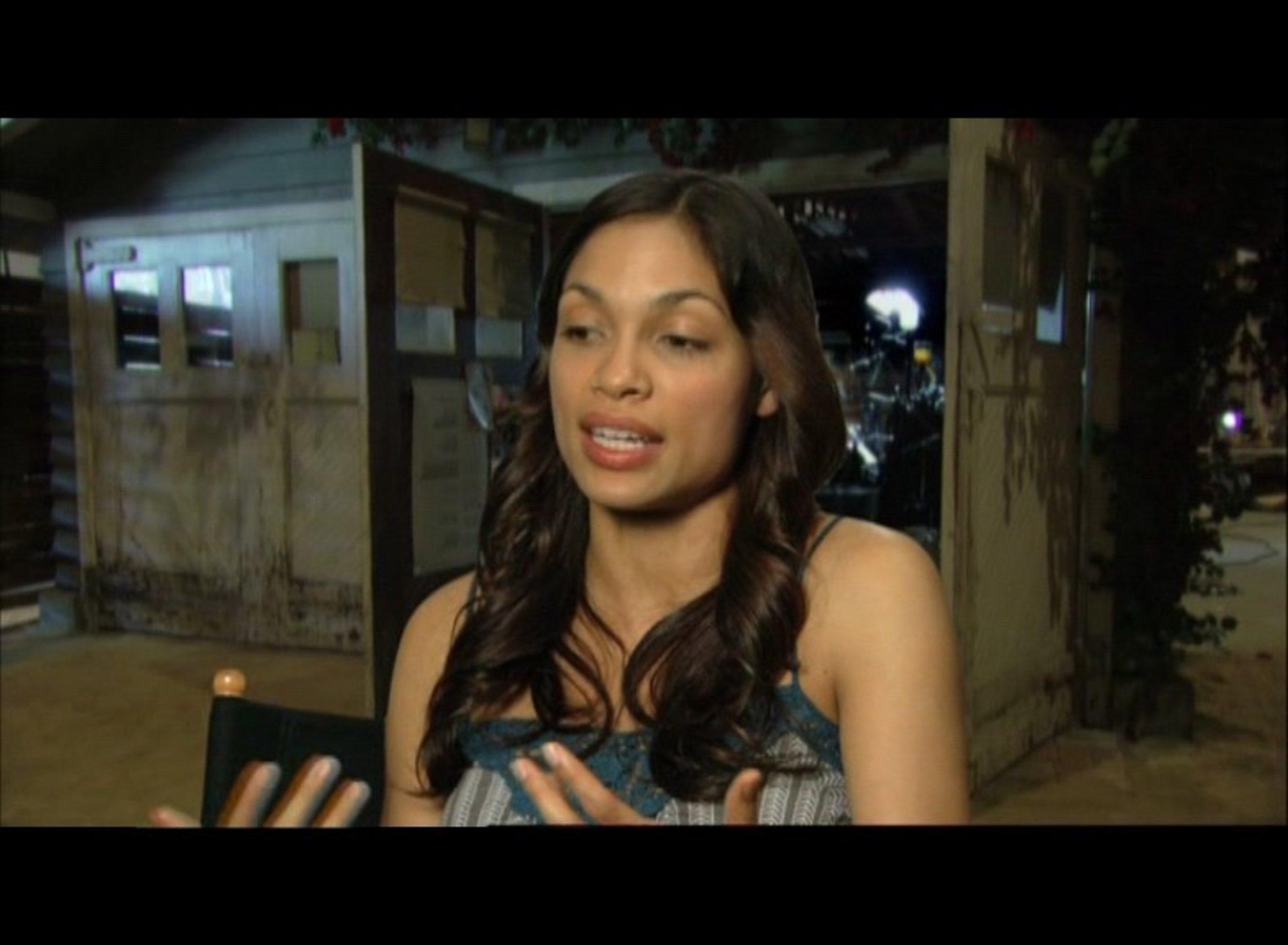 Interview mit Rosario Dawson Rosario Dawson
