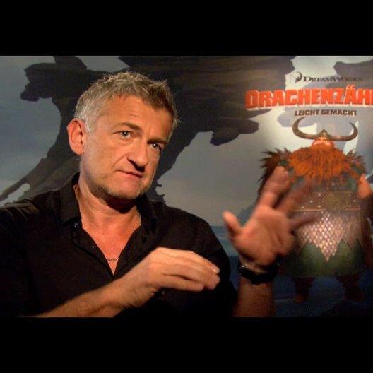 """DOMINIC RAACKE - """"Haudrauf - der Stoische"""" (deutsche Stimme) über """"Hicks"""" - Interview"""