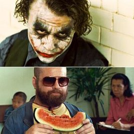 Zach Galifianakis als Joker