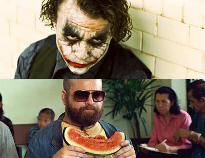 Zach Galifianakis als Joker