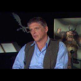 "CRAIG FERGUSON - ""Grobian"" (Original-Stimme) über das Dorf ""Berk"" - OV-Interview"