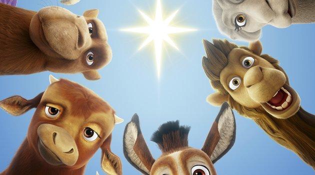 """Diese Tiere erleben das erste Weihnachten in """"Bo und der Weihnachtsstern"""" Poster"""