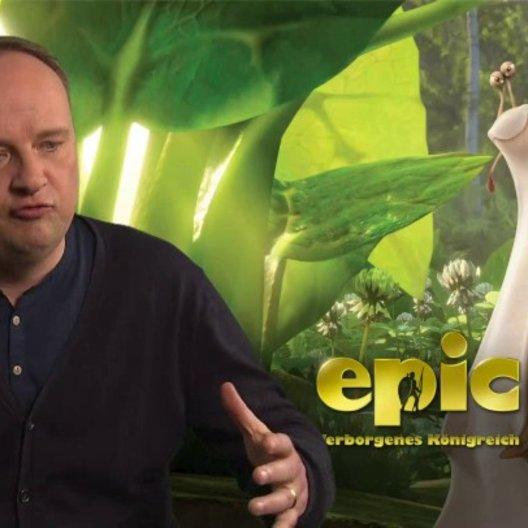 Oliver Welke -Grub- über die Charaktere der Schnecken - Interview