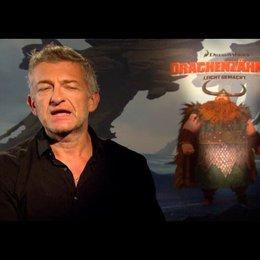 """DOMINIC RAACKE - """"Haudrauf - der Stoische"""" (deutsche Stimme) über die Synchronarbeiten - Interview"""