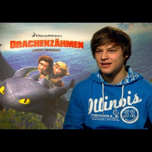 """DANIEL AXT - """"Hicks - der Hüne"""" (deutsche Stimme) über die Synchronarbeiten - Interview"""