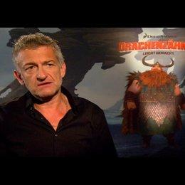 """DOMINIC RAACKE - """"Haudrauf - der Stoische"""" (deutsche Stimme) über die Wikinger von """"Berk"""" - Interview"""