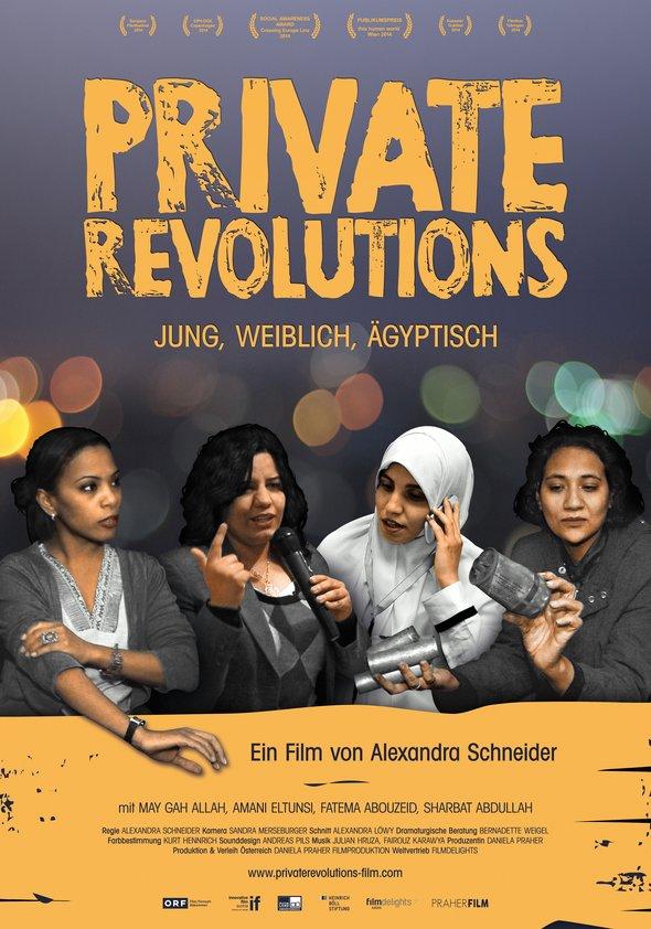 Private Revolutions - Jung, weiblich, ägyptisch Poster
