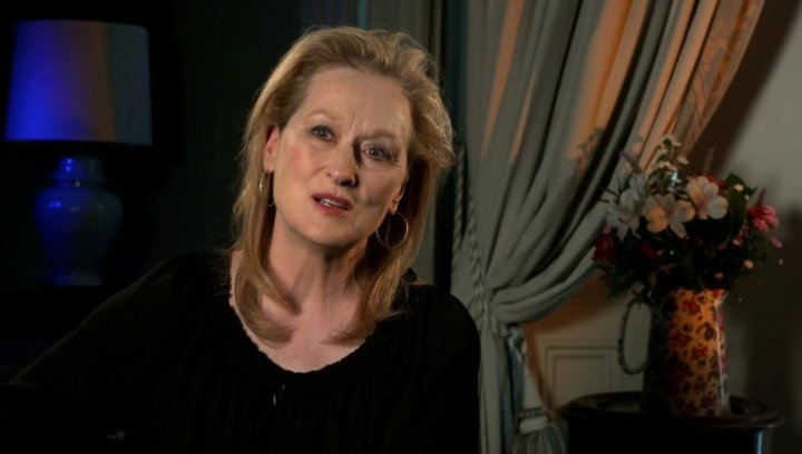 Meryl Streep über ihre Rolle - OV-Interview Poster