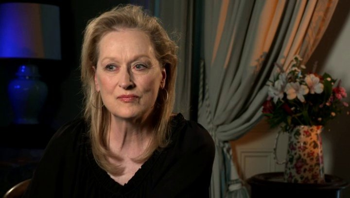 Meryl Streep über die Arbeit mit Rick Springfield - OV-Interview Poster