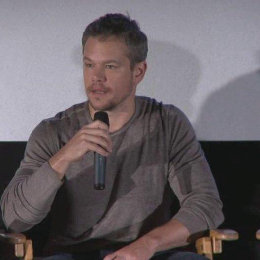 Pressekonferenz mit Ridley Scott, Matt Damon, dem Buchautor Andy Weir und dem Astronauten Drew Feustel - Sonstiges Poster