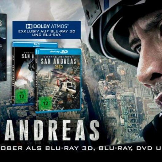 San Andreas (VoD-BluRay-DVD-Trailer) - Teaser Poster
