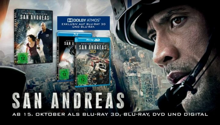 San Andreas (VoD-BluRay-DVD-Trailer) - Teaser Poster