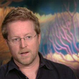 Andrew Stanton - Director - darüber dass Findet Nemo ausgezeichnet für 3D geeignet ist - OV-Interview