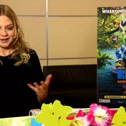 Annett Louisan - Gabi - über ihre Mitarbeit an dem Film - Interview