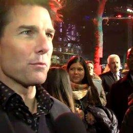 Weltpremiere - Tom Cruise - Jack Reacher über das Wiedersehen mit Robert Duvell - OV-Interview