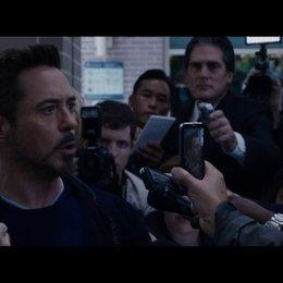 Tony fordert den Mandarin heraus - Szene