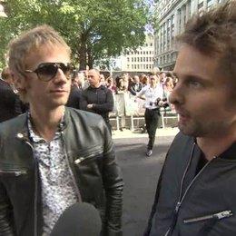 Matthew Bellamy und Dominic Howard - MUSE - Premiere London - OV-Interview