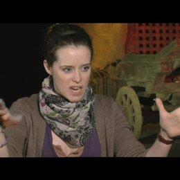 Claire Foy über die Beziehung zwischen Behmen und dem Mädchen - OV-Interview