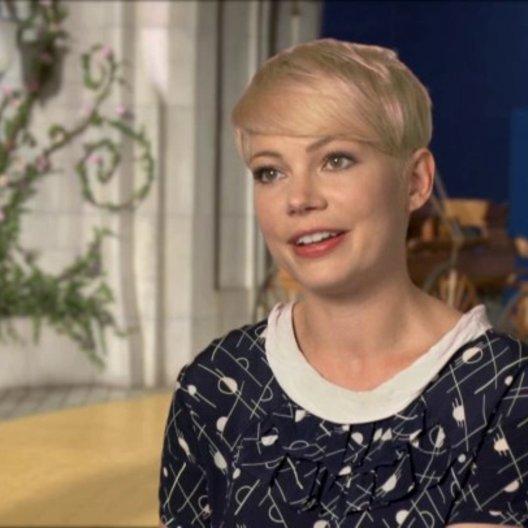 Michelle Williams (Glinda und Annie) darüber wie Glinda Oz sieht - OV-Interview