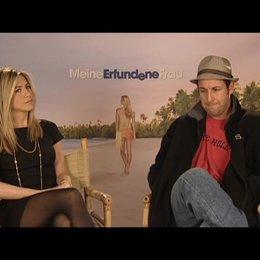 Exklusivinterview mit Jennifer Aniston und Adam Sandler - OV-Interview