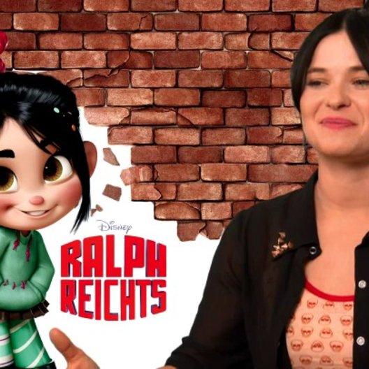 Anna Fischer - Vanellope - warum man sich den Film ansehen sollte - Interview