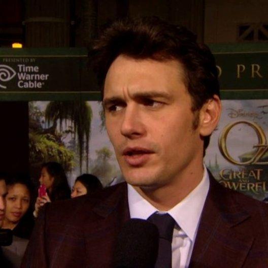 US Premiere - James Franco (Oz)  was die Zuschauer erwartet - OV-Interview