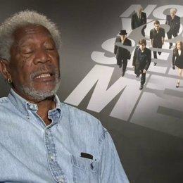 Morgan Freeman - Thaddeus Bradley - über die Verbindung seiner Rolle zu den The Four Horseman - OV-Interview