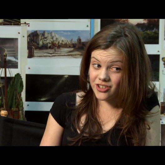 Georgie Henley über die Magie im Film und in den Narniateilen - OV-Interview