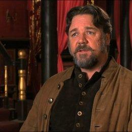 Russell Crowe über das Genre des Films - OV-Interview