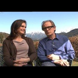 Brooke Shields (Caroline) und Bill Nighy (Richard) was Bill Nighy überzeugt hat bei dem Film mitzumachen - OV-Interview