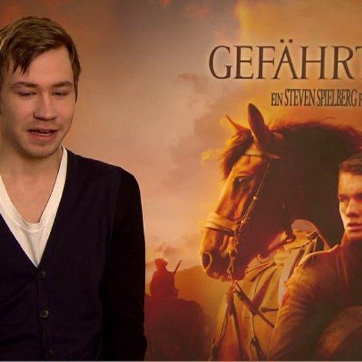 David Kross (Gunther) über das Set - Interview