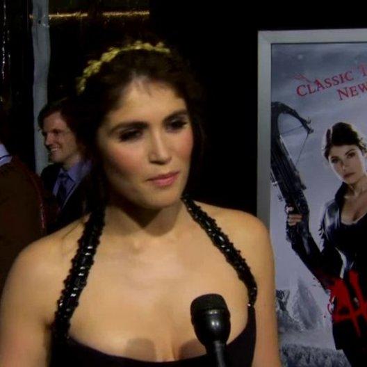 US Premiere - Gemma Arterton - Gretel - über ihre Rolle - OV-Interview