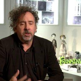 Tim Burton - Regisseur - über den fertigen Film - OV-Interview