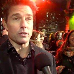 Weltpremiere - Tom Cruise - Jack Reacher über seine Vorbereitungen auf seine Rolle - OV-Interview